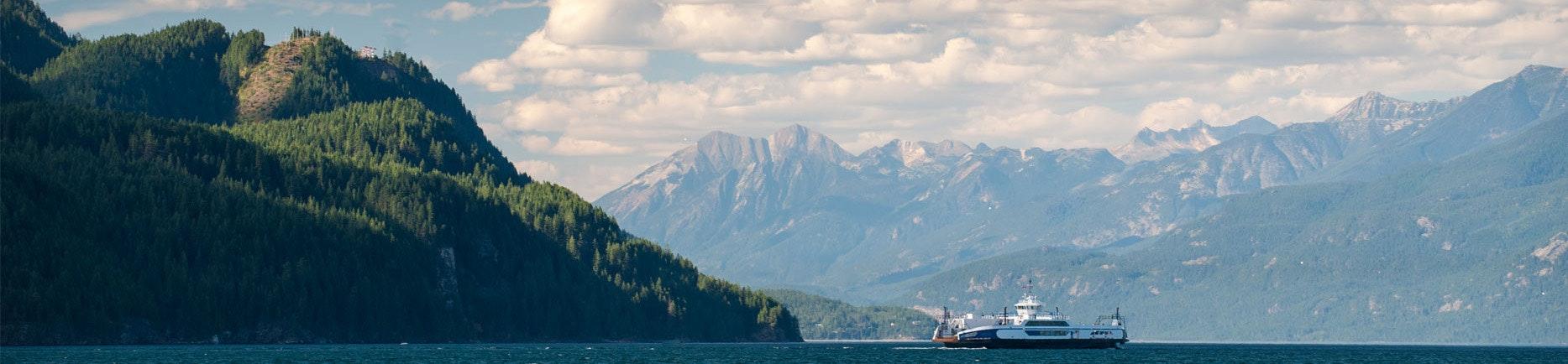 Schüleraustausch Kanada Kootenay Lake